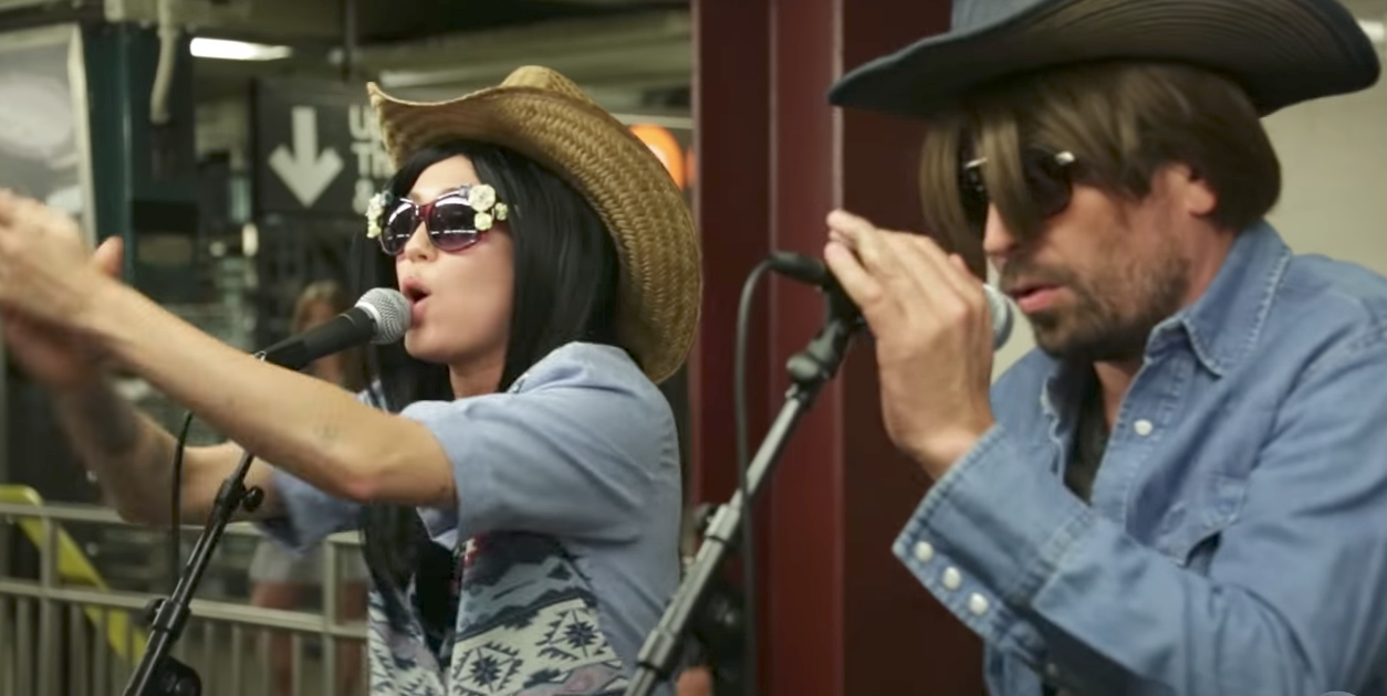 """Miley Cyrus Goes Incognito in the Subway and Rips a Killer """"Jolene"""" Cover with Jimmy Fallon"""