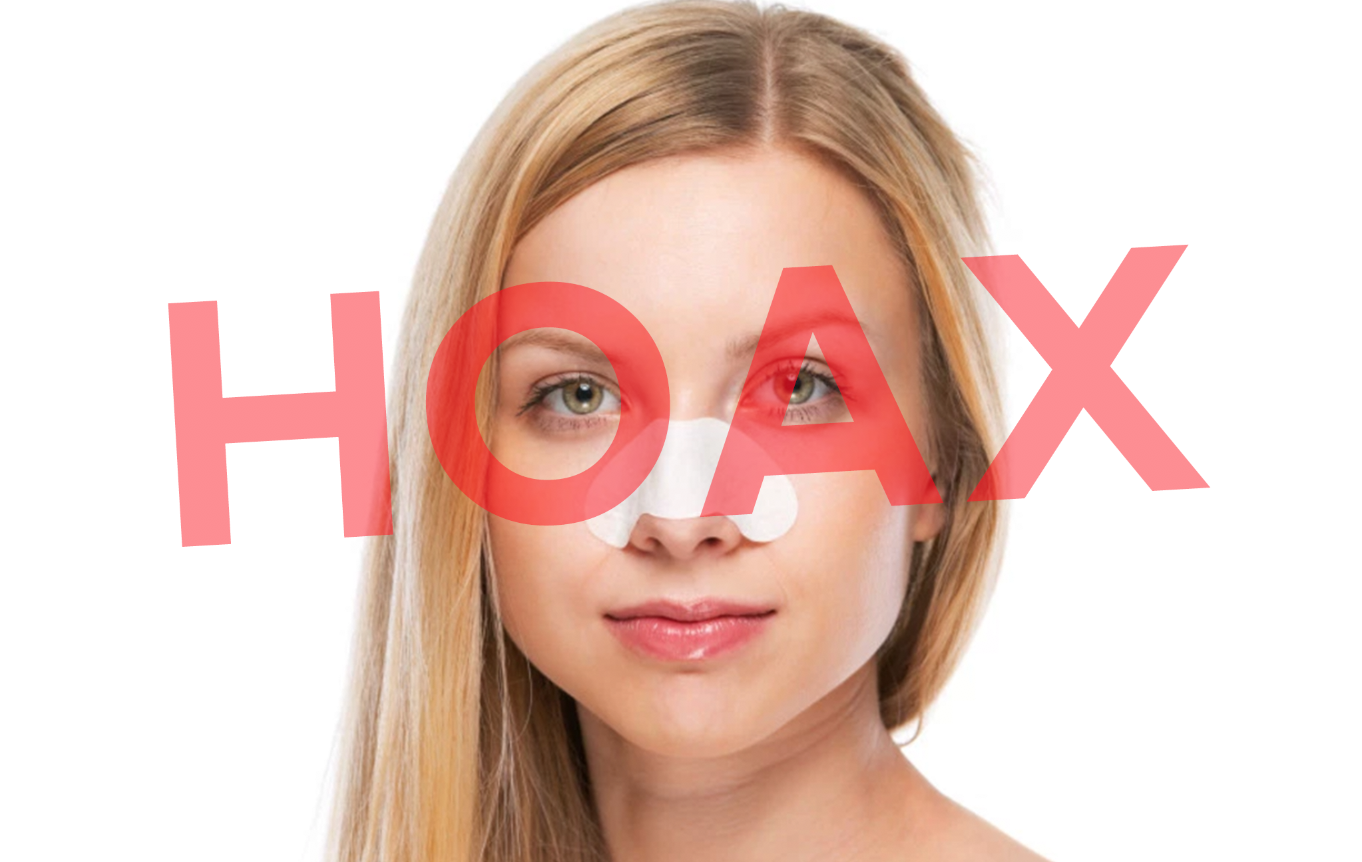 Let's Call Pore Strips For What They Are: A HOAX