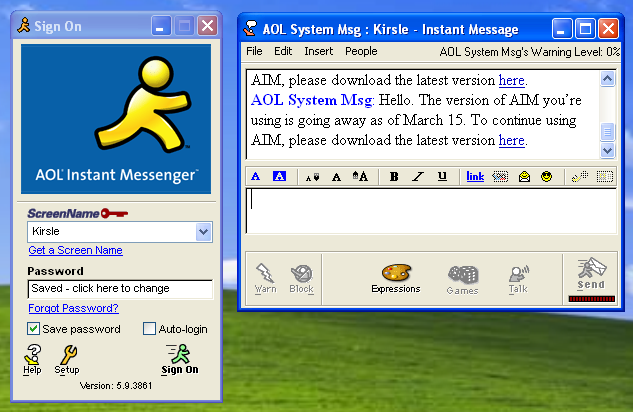 10 Tweets to Sum Up How the World Feels About the End of AIM