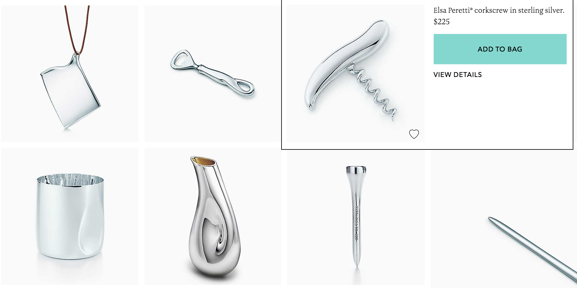 7814deff0ad ... Tiffany s new everyday objects line because I have SO many questions.  Screen Shot 2017-11-08 at 4.11.18 PM.png