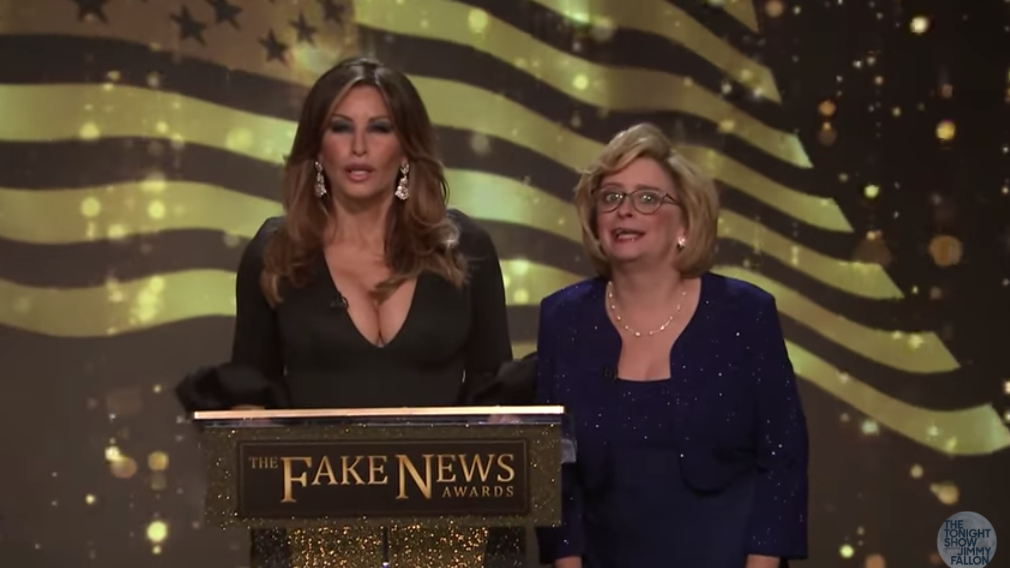 Late Night In The Morning – Trump's Fake News Awards