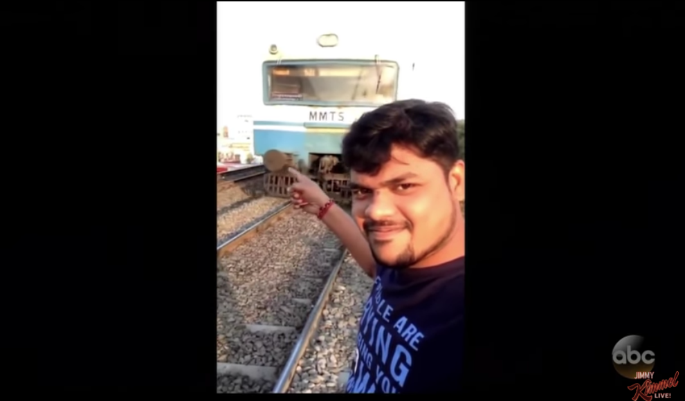 Late Night in the Morning — a Conversation With the Man Who Was NAILED by a Train While Taking a Selfie