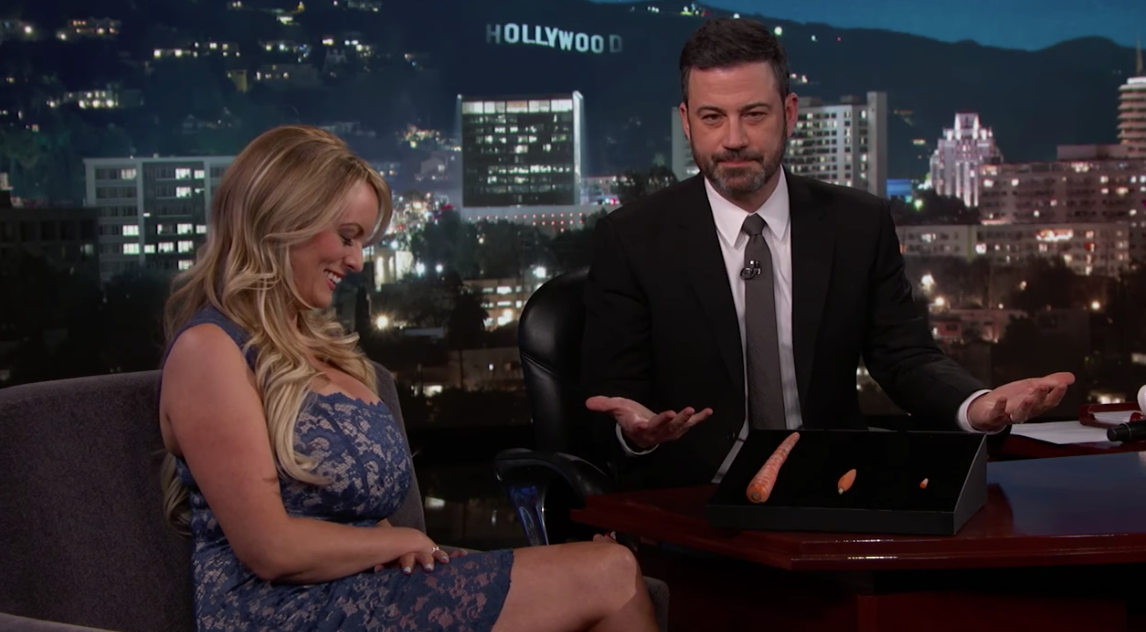 Late Night in the Morning – Stormy Daniels Interview