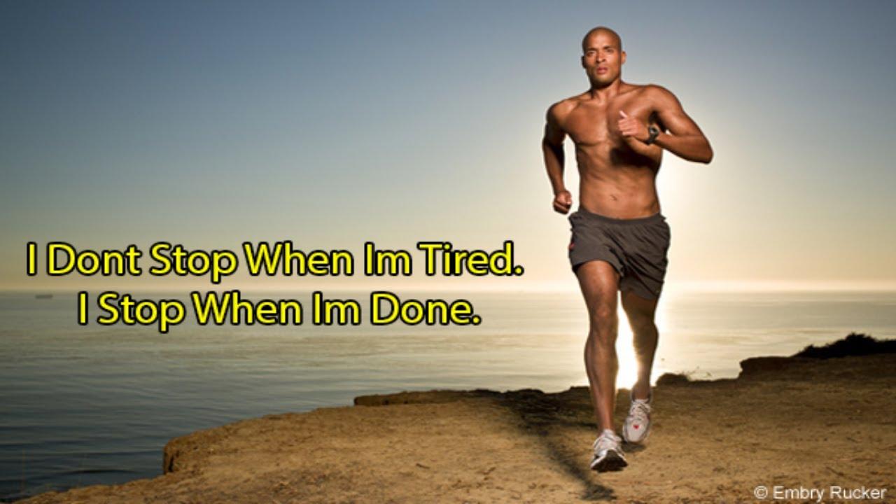 Monday Motivation Featuring David Goggins