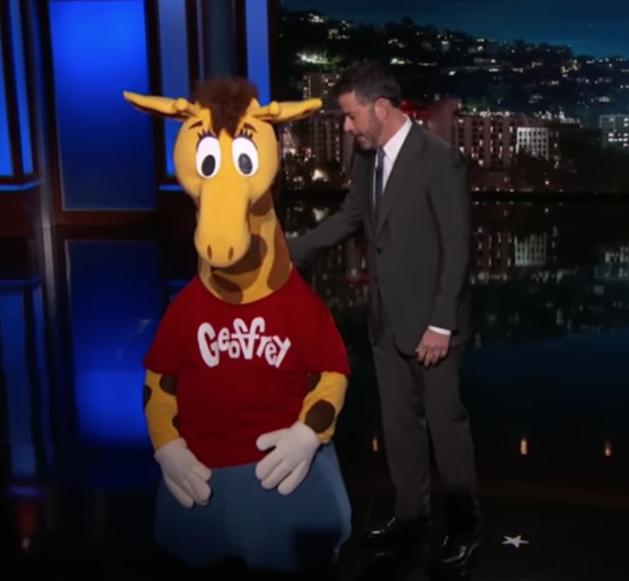 Geoffrey the Giraffe Responds After Being Laid Off