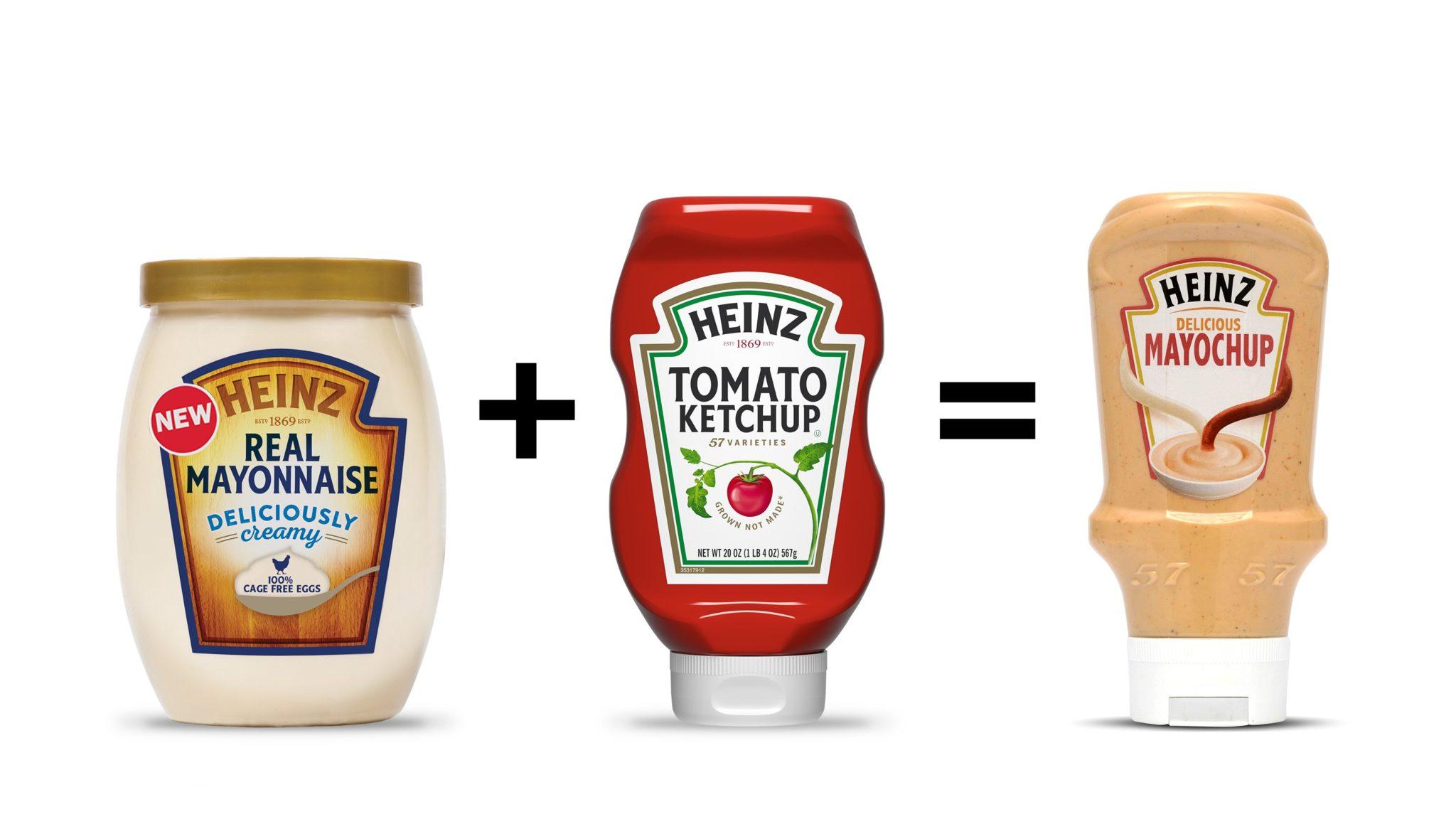 Heinz Combines Ketchup and Mayonnaise to Make Mayochup, Dividing the Internet