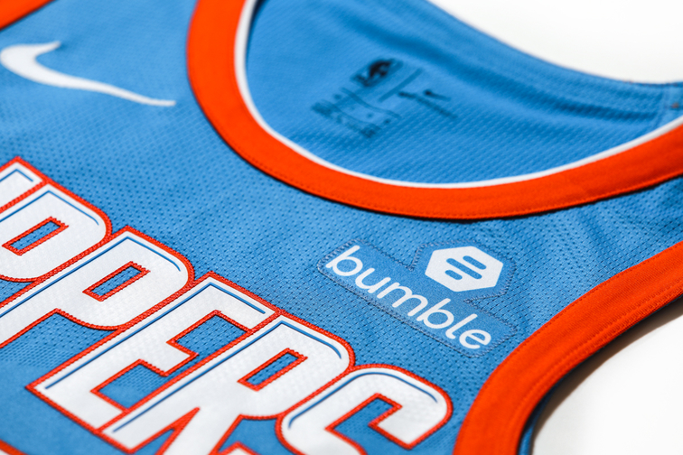 Bumble Is Advertising On NBA Jerseys To Help Promote Gender Equality? Wait…