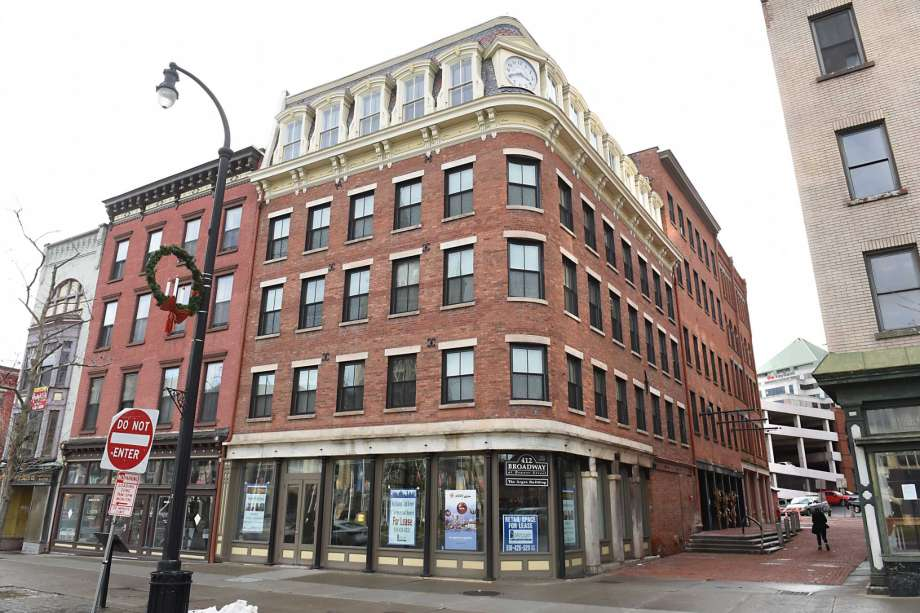 Surprise! A Historic Downtown Albany Building Has Been Draining Its Sewage Directly Into the Hudson Since 1913