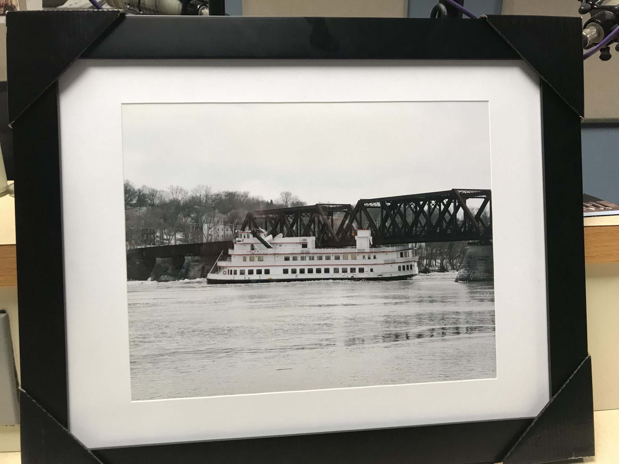 Tell Your Valentine You Love Them With This Framed Photo of History on the Hudson