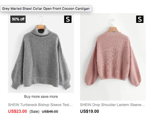 I'm So Desperate For Cozy Sweaters I'm About to Fall For the Biggest Internet Fashion Hoax