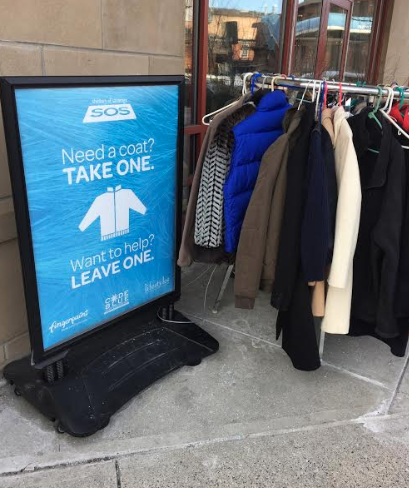 GOOD DEED ALERT: Stop by Fingerpaint in Saratoga and Drop off Winter Coats For Those Who Need it
