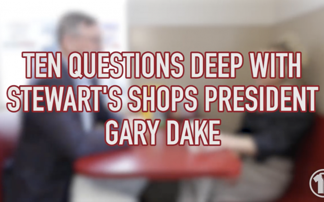 Ten Questions Deep with Stewart's President Gary Dake