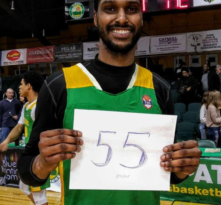 Ubiles Sets Albany Patroons Franchise Record With 55 Points