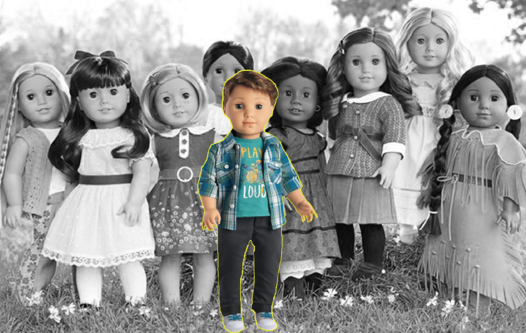 Introducing The Next American Girl Doll:  A Boy