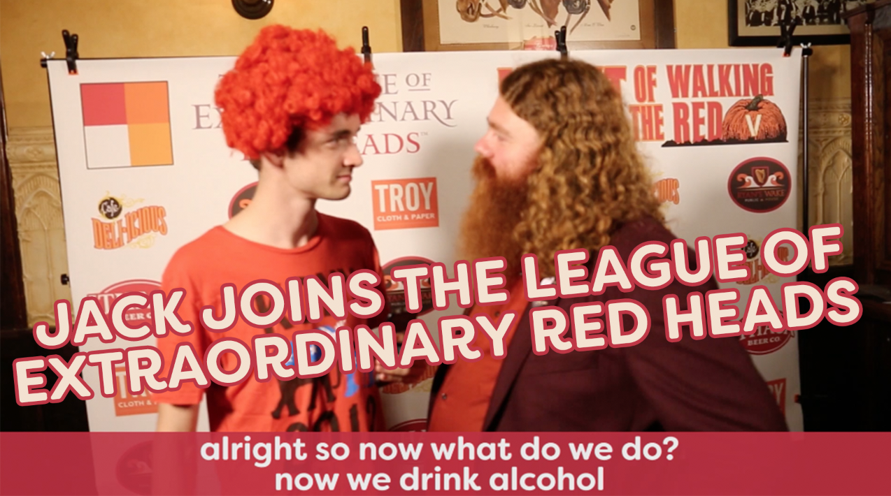 Jack Joins The League of Extraordinary Red Heads