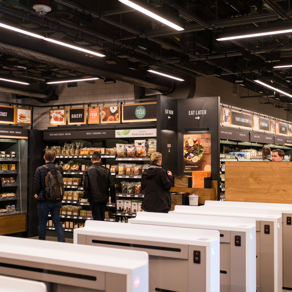 The Amazon Go Store is Officially Real and it's the Coolest Thing Ever