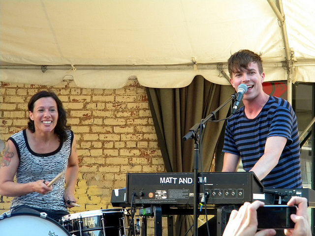 Matt and Kim are Coming Back to the Capital Region in March to Get Hot, Sweaty and Disgusting