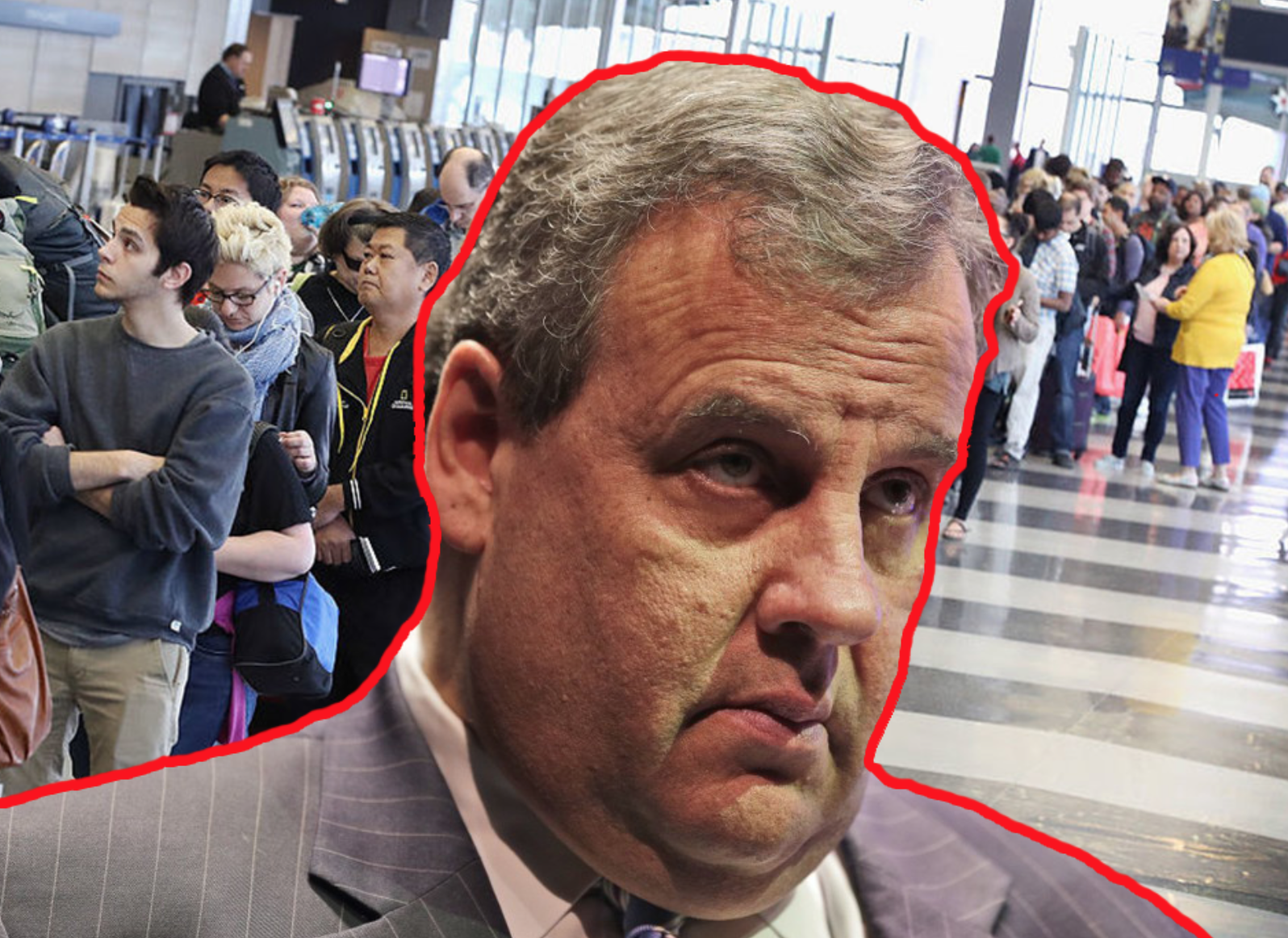 What Goes Around Comes Around: Chris Christie Told To Wait In Line With the Normal People At Newark Airport