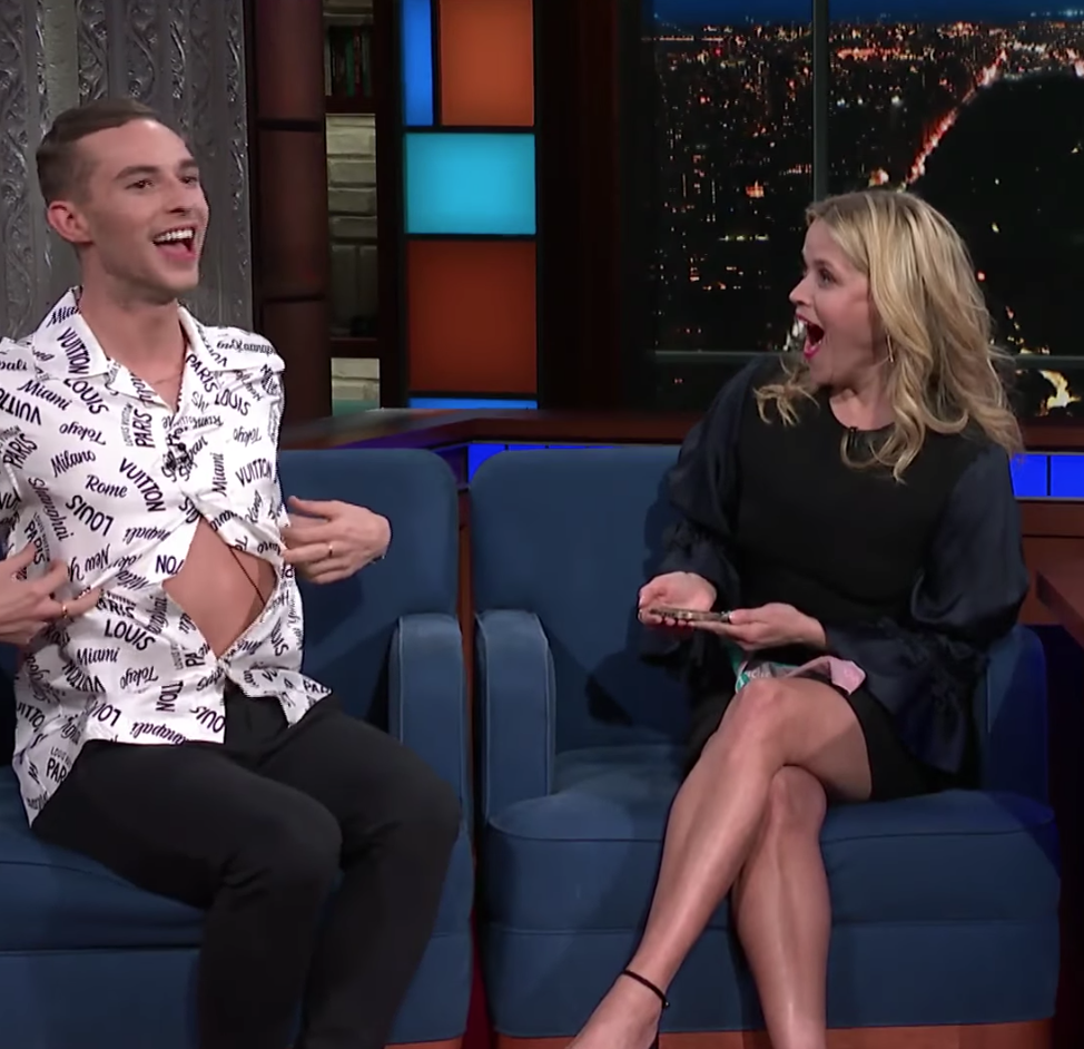 Adam Rippon May Have Reinvented What It Means to be One Button Deep