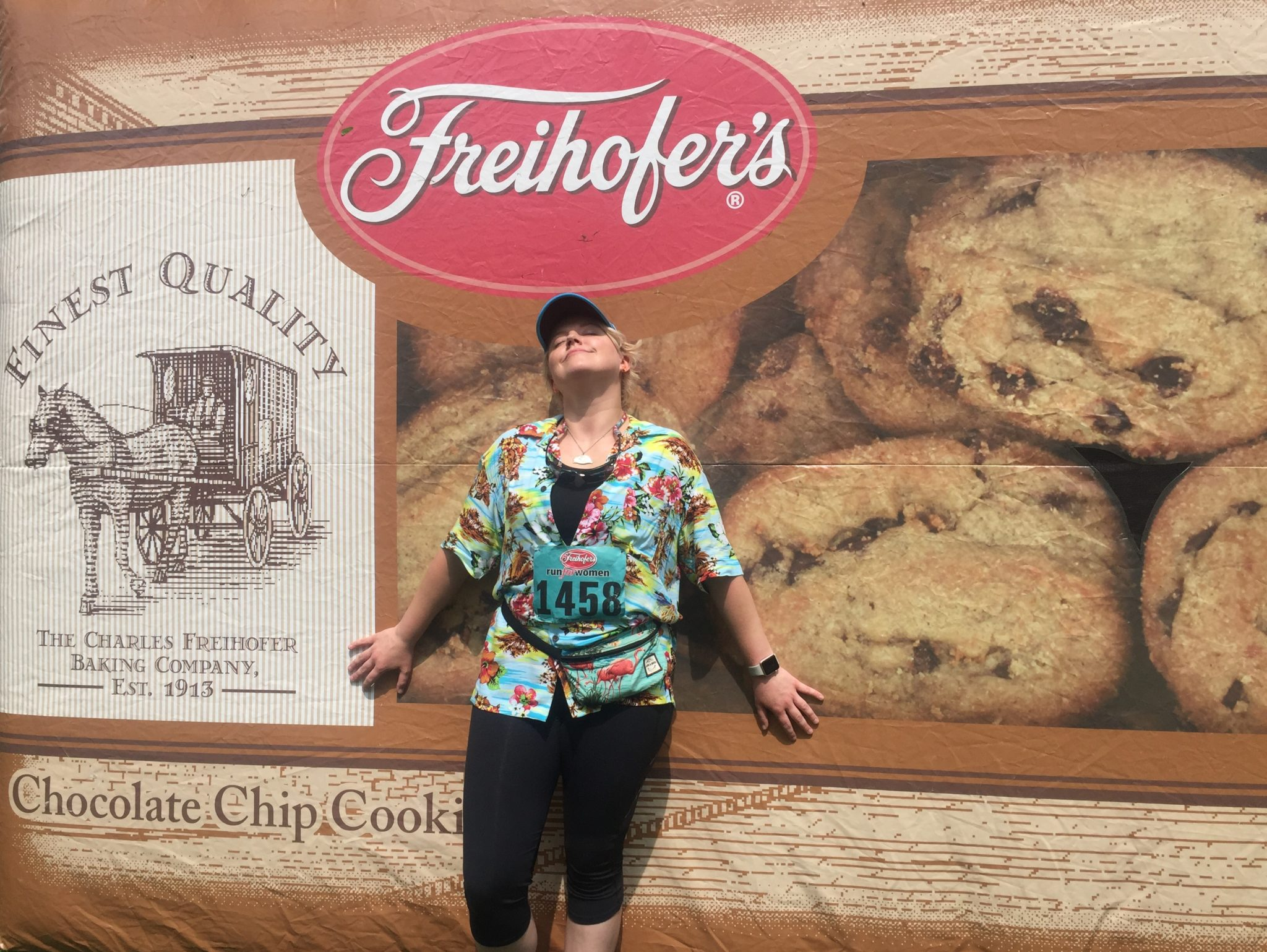 One Tough Cookie: I Went Two Buttons Deep at the Freihofer's Run for Women