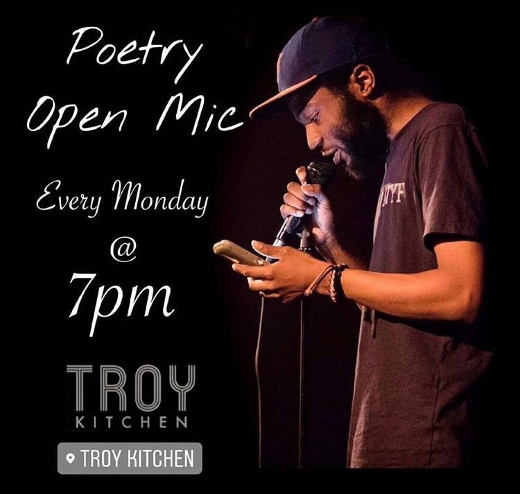 I'm the Featured Poet at Tonight's Poetic Vibe so You Should Probably Come