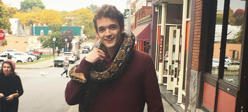 Only an Asshole Would Carry a Boa Constrictor Around Downtown Saratoga…Right?