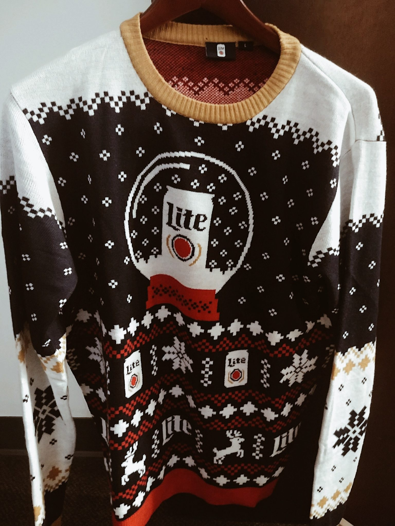 BREAKING NEWS: I Actually Won Stewart's Shops Miller Lite Sweater Contest