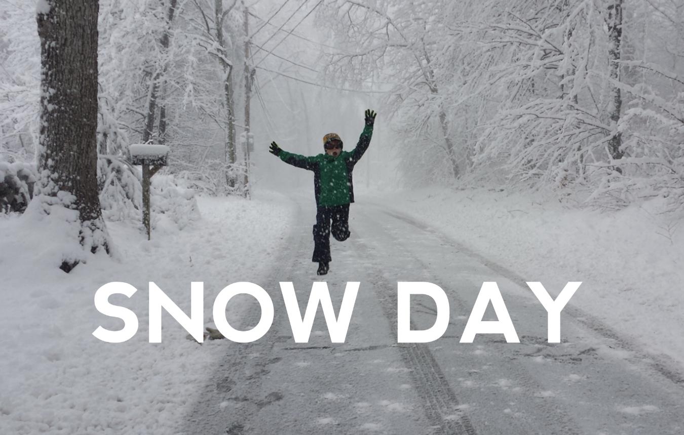 Snow Days as a Teacher > Snow Days as a Student