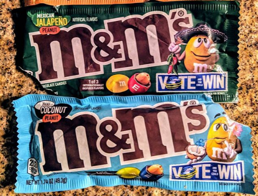 These Two New M&M Flavors Are Speaking Directly to My Heart