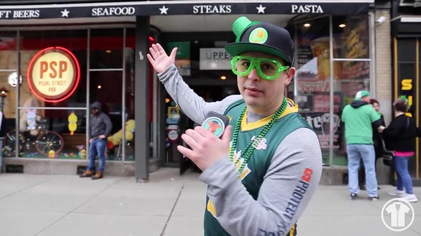 John Does the Albany St. Patrick's Day Parade