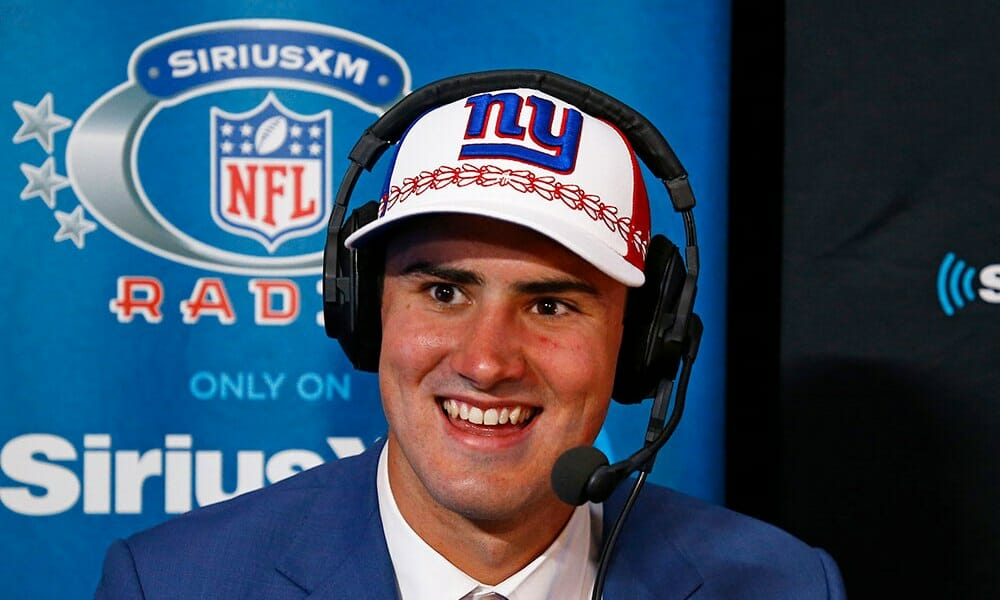 The Giants first pick may not have been great, but I grade the reaction videos VERY high.